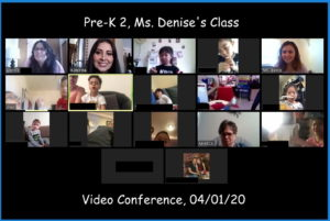 PreK2 Zoom Meeting