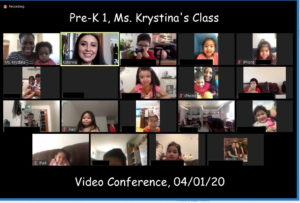 PreK 1 Zoom Meeting