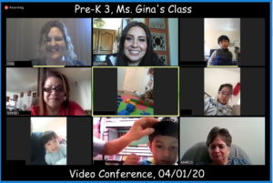 PreK3 Zoom Meeting