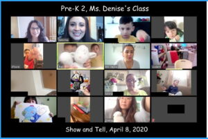 PreK2 Show and Tell