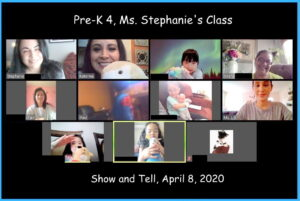 PreK4 Show and Tell