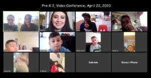 PreK2 on zoom
