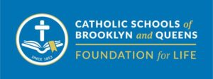Logo for Catholic Schools of Brooklyn and Queens