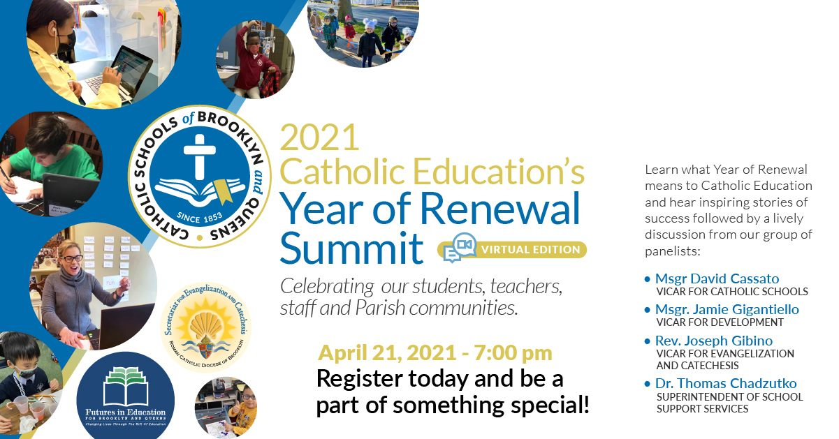 Year of Renewal Summit promotional material